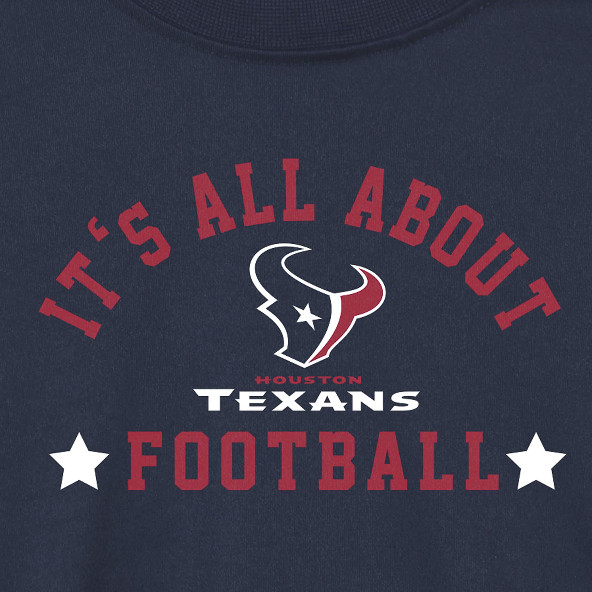 Houston Texans Baby and Toddler Boys Long Sleeve Tee Shirt-Gerber Childrenswear