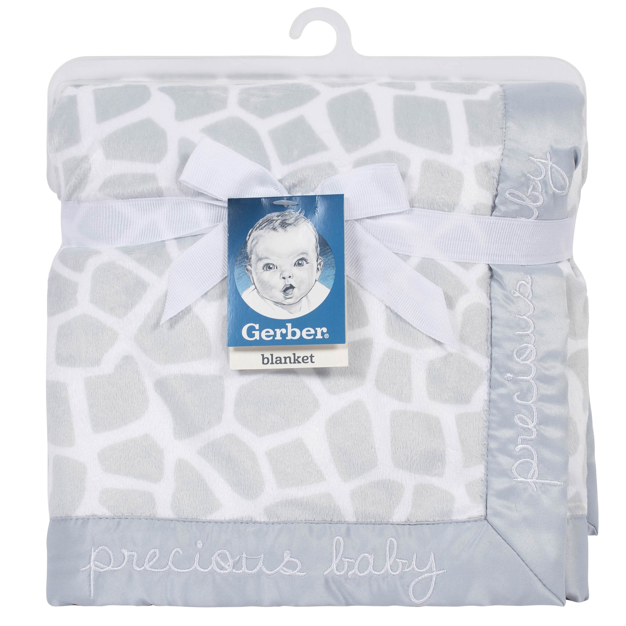 Gerber Baby Neutral Giraffe Plush Blanket