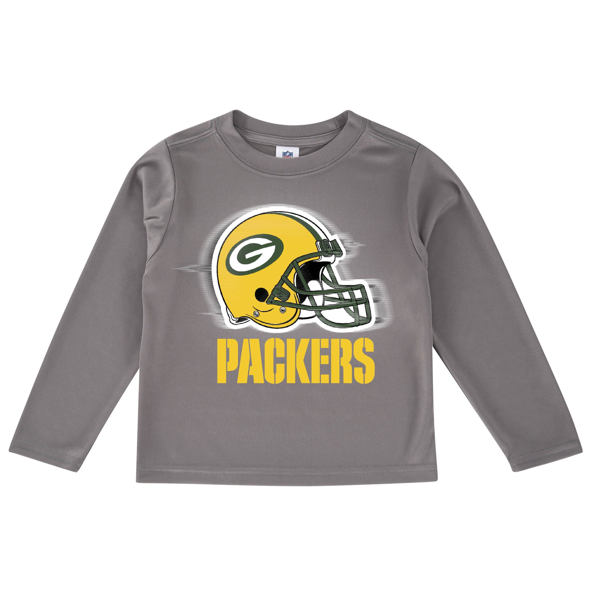 Green Bay Packers Long Sleeve Logo Tee Shirt-Gerber Childrenswear