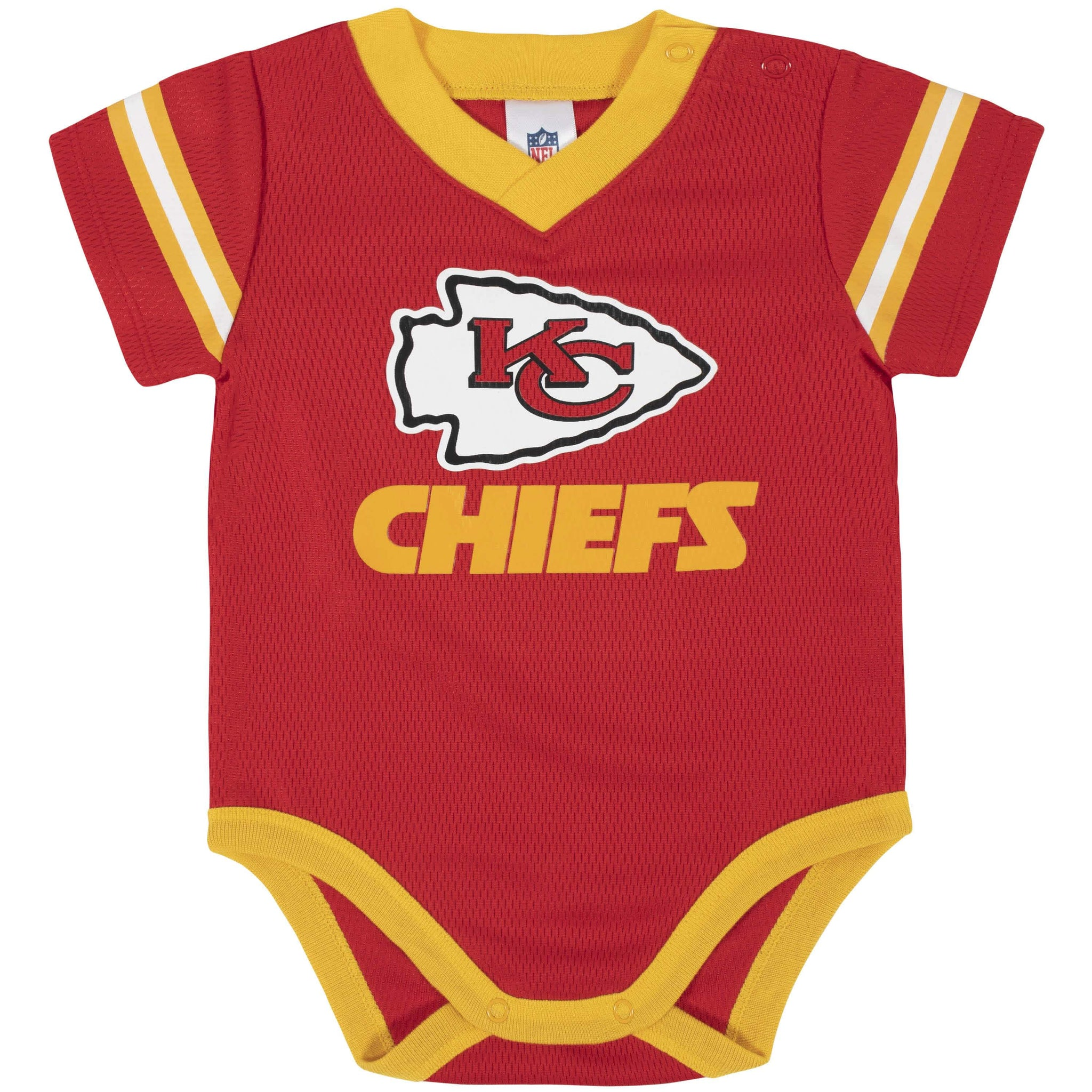 Kansas City Chiefs Baby Boys Bodysuit-Gerber Childrenswear