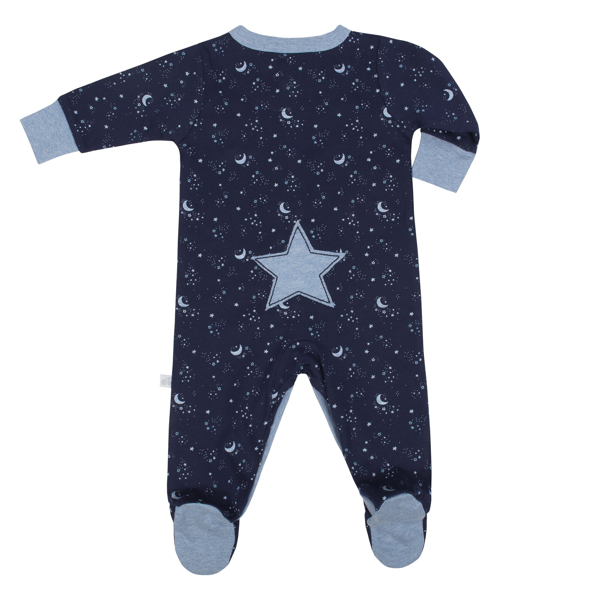 Baby Boy Organic Just Born® Outer Space Sleep N' Play-Gerber Childrenswear