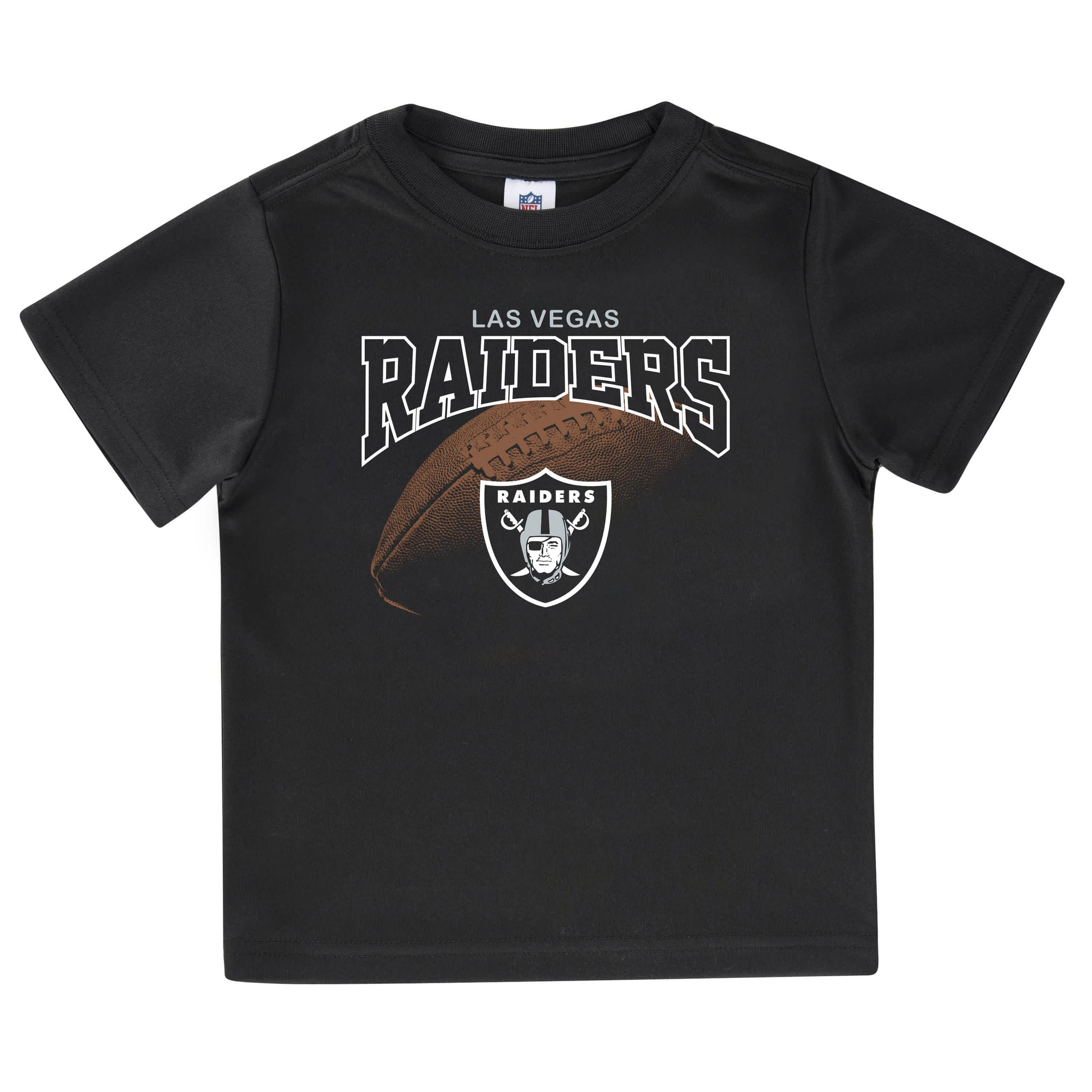 Las Vegas Raiders Toddler Boys Tee Shirt-Gerber Childrenswear