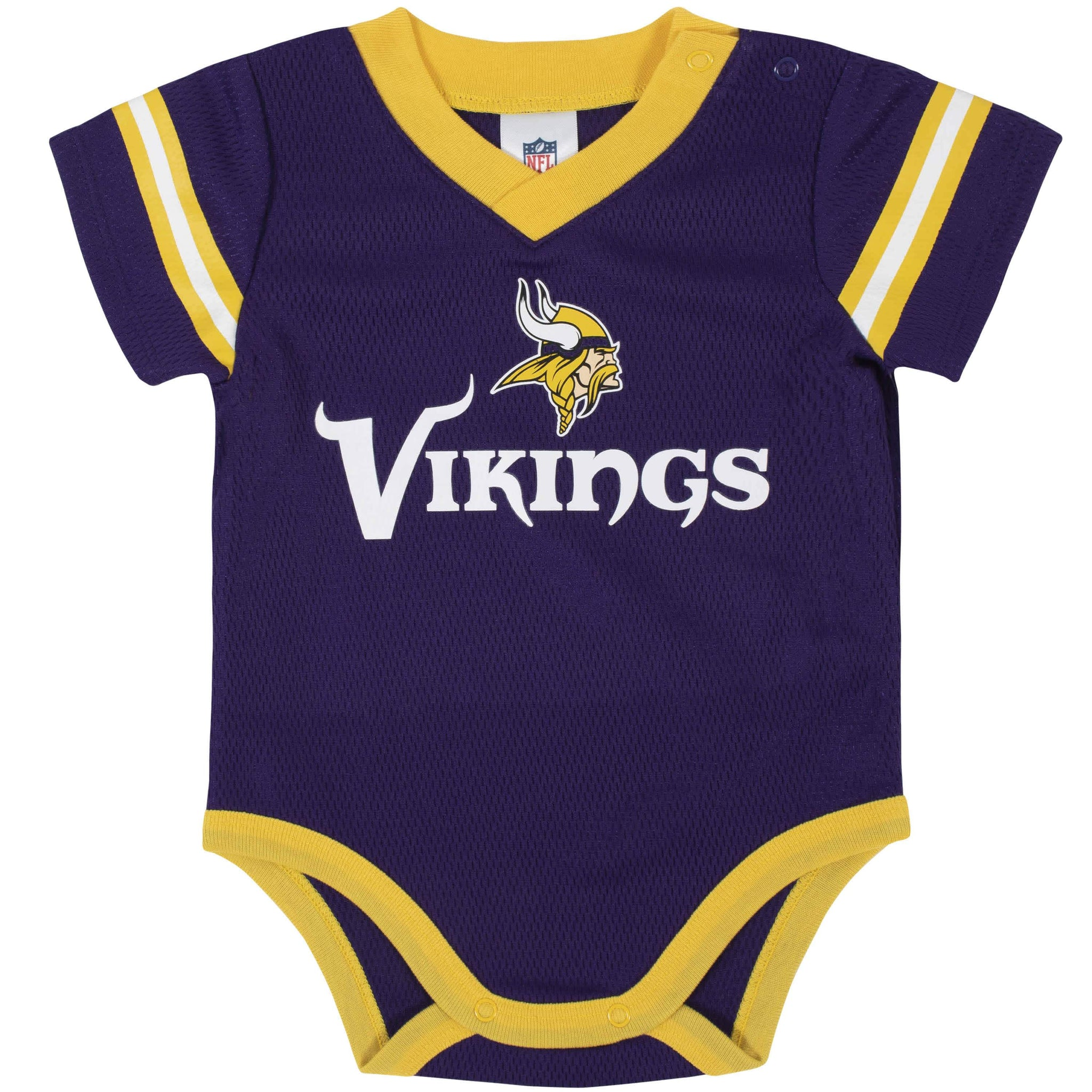 Minnesota Vikings Baby Boys Bodysuit-Gerber Childrenswear