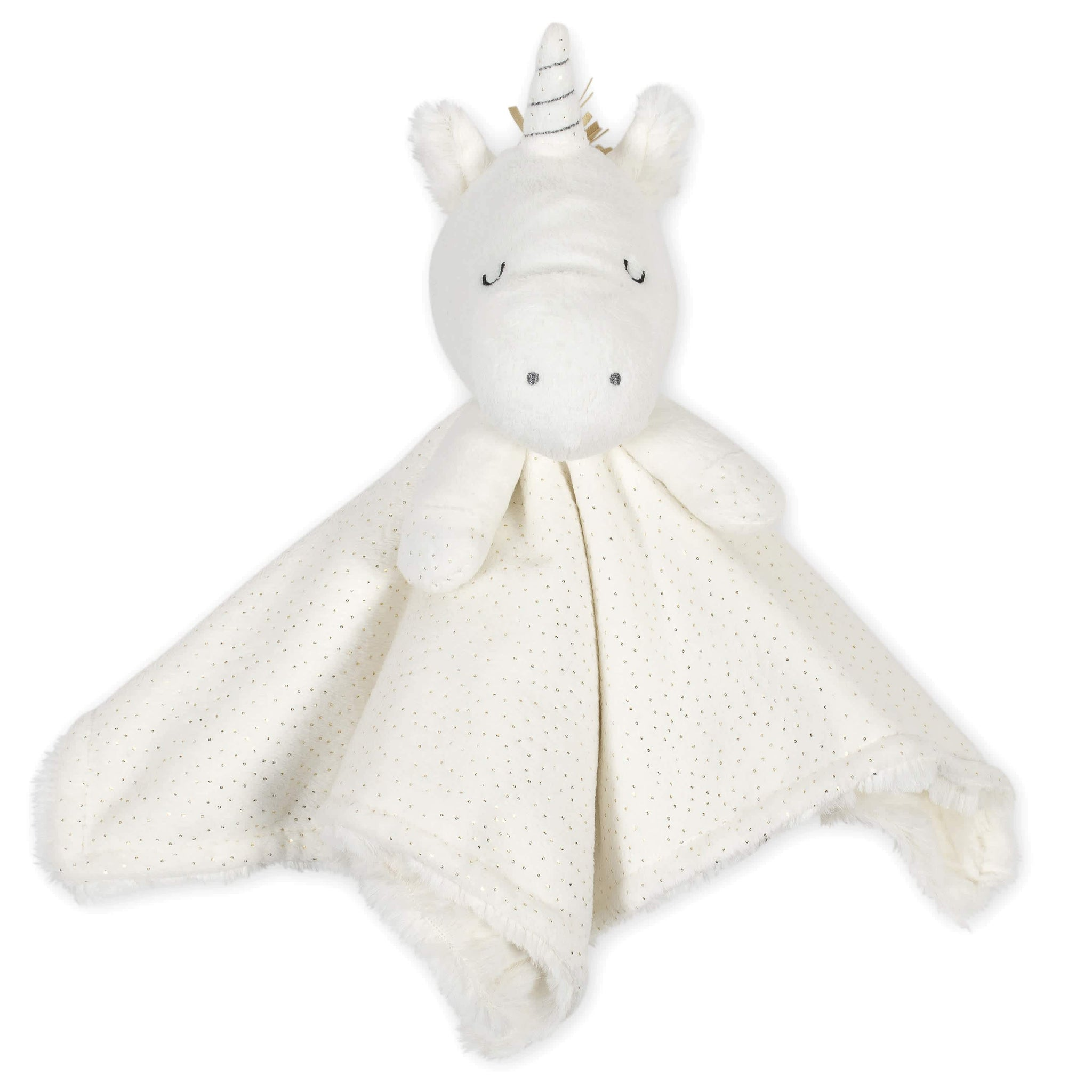 Just Born® Baby Neutral Unicorn Security Blanket-Gerber Childrenswear