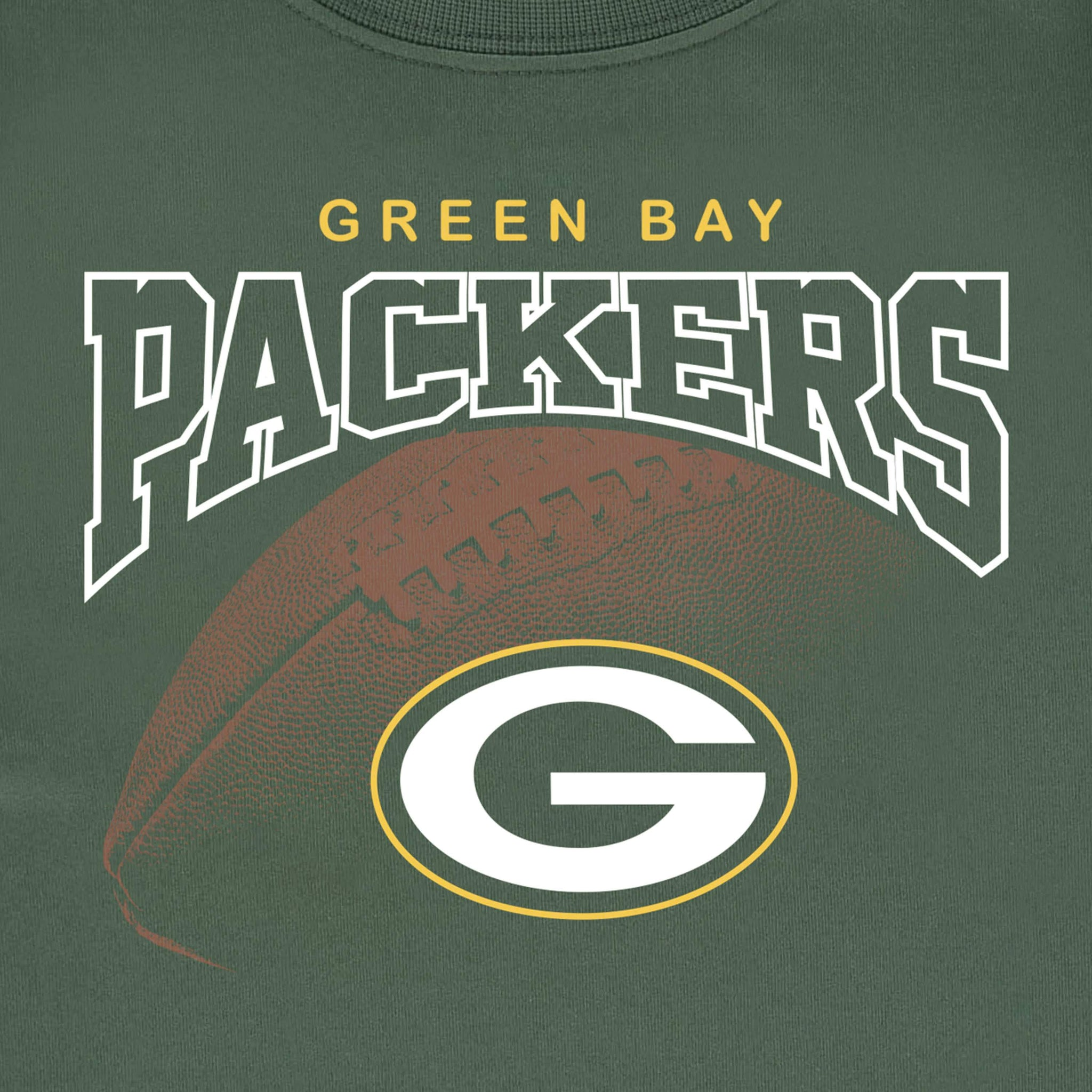 Green Bay Packers Boys Tee Shirt-Gerber Childrenswear