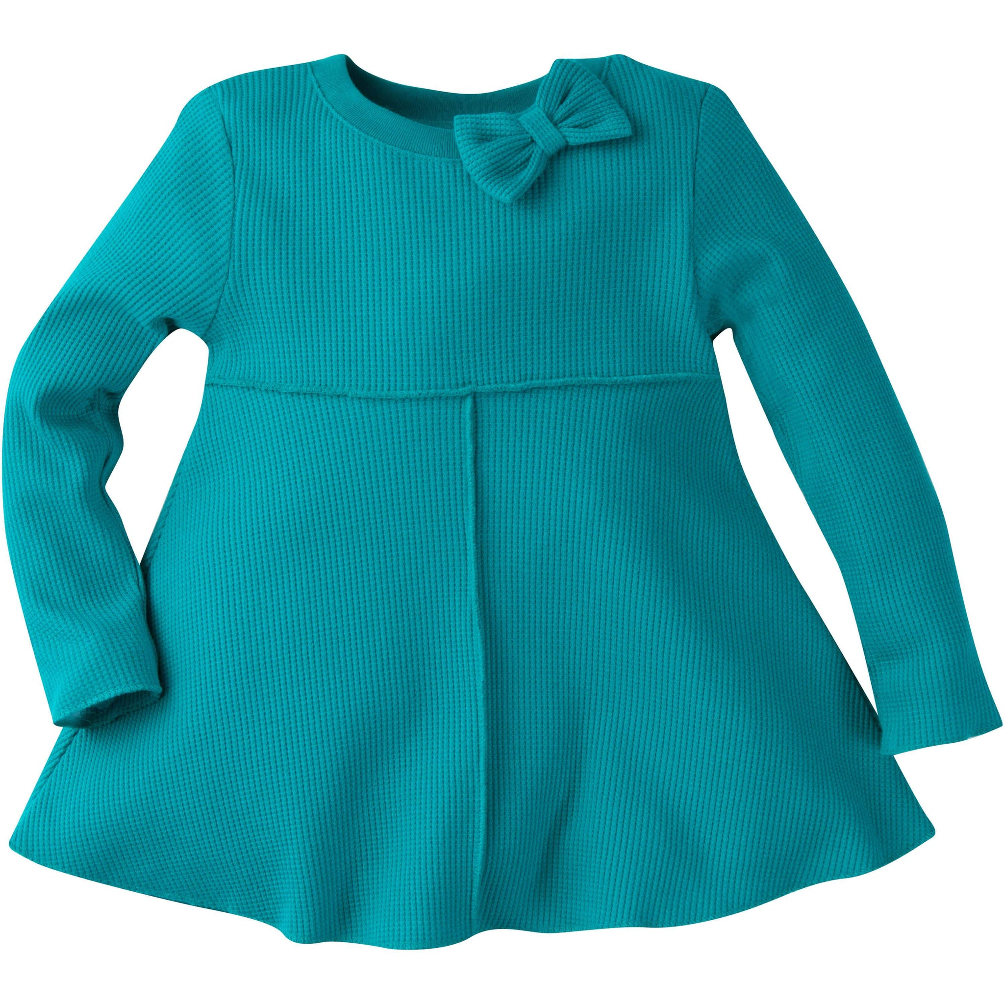 Gerber® Graduates Baby Girls Turquoise Long Sleeve Top-Gerber Childrenswear