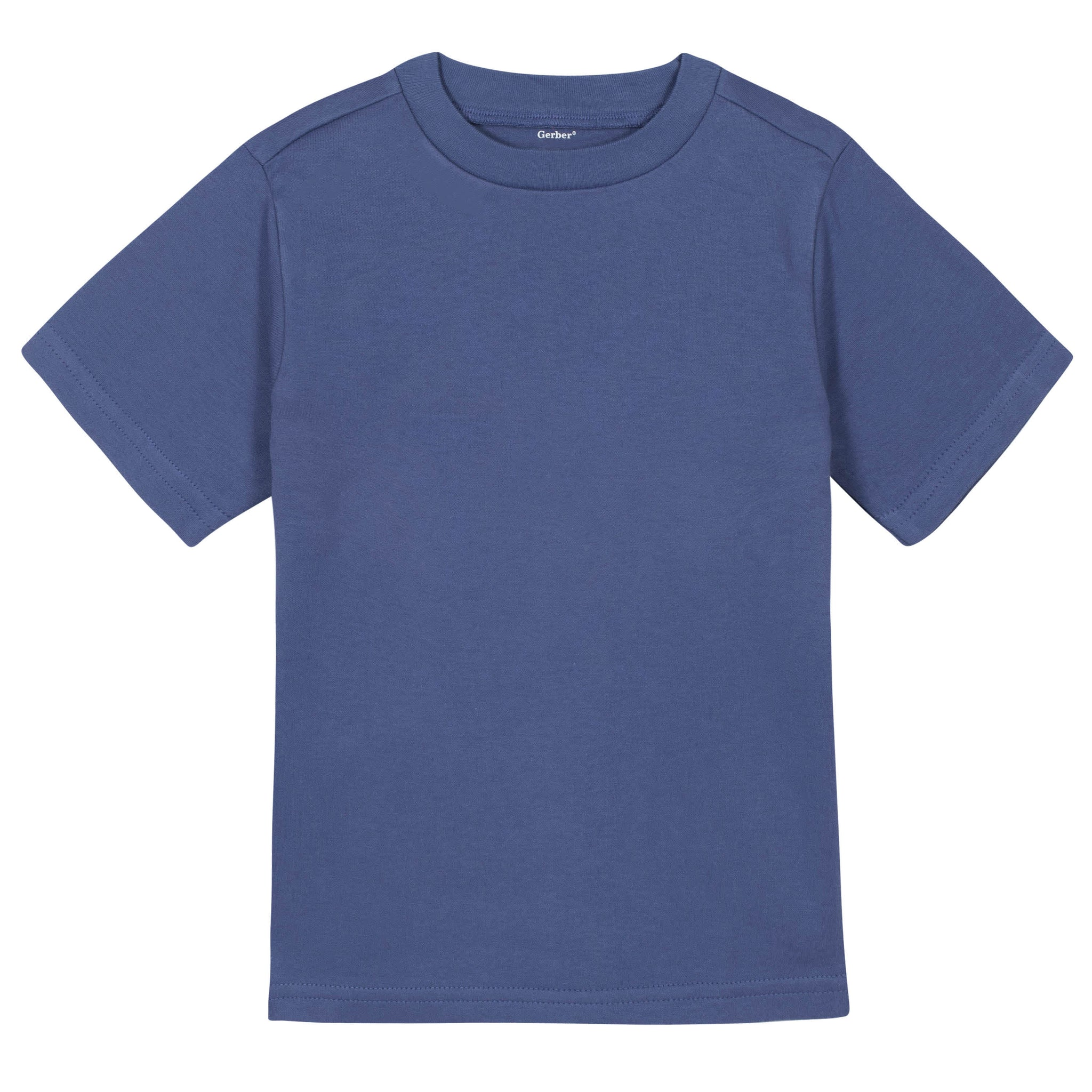 Gerber® Premium Blue Short Sleeve Tee Shirt - 10 Colors Available