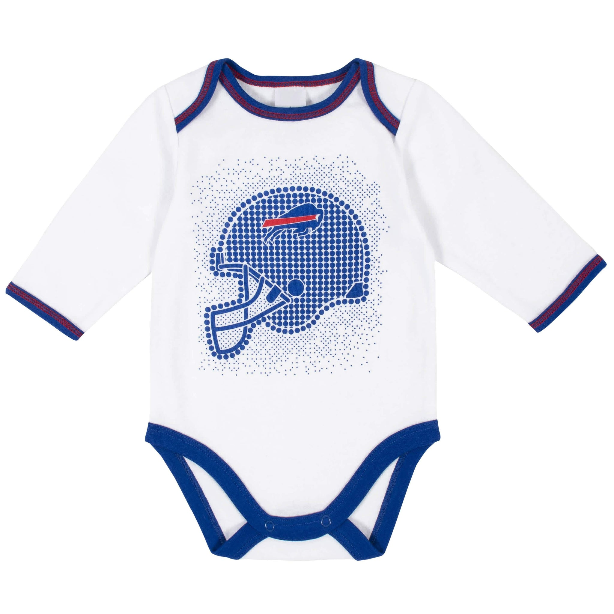 Buffalo Bills 3-Piece Baby Boys Bodysuit, Pant, and Cap Set