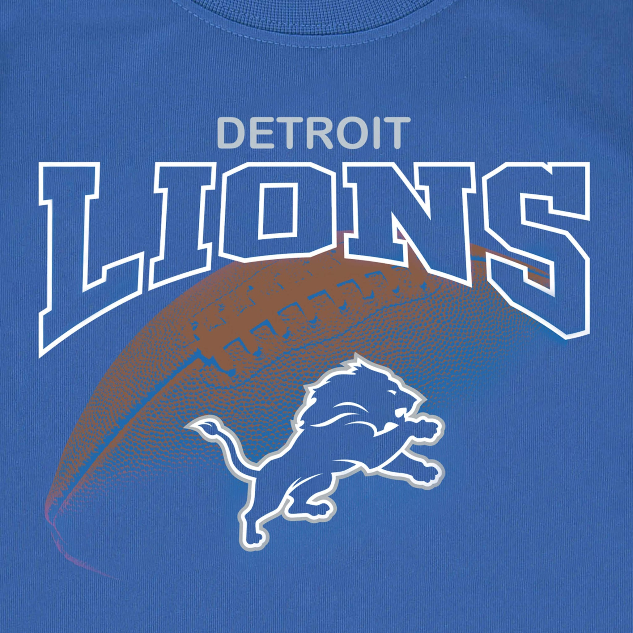 Detroit Lions Boys Tee Shirt-Gerber Childrenswear