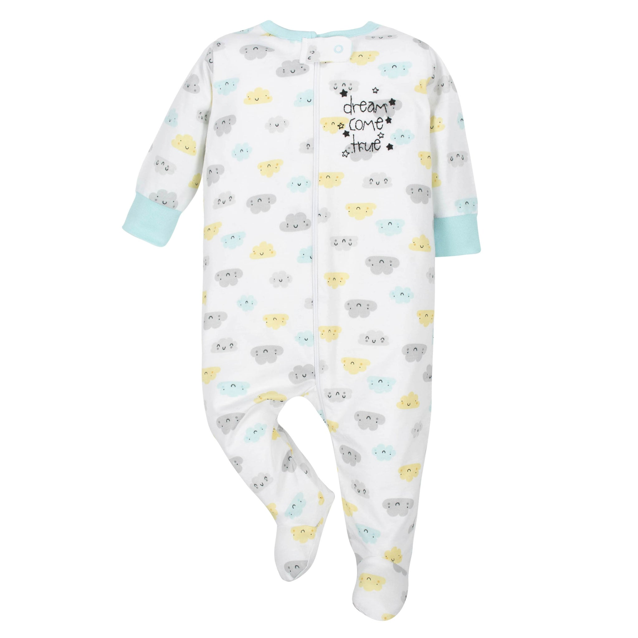 Gerber® Baby Neutral White Clouds Sleep 'n Play