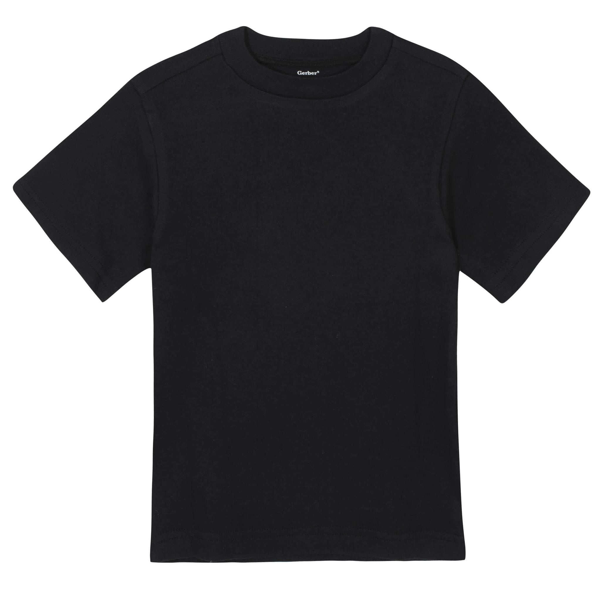 Gerber® Premium Black Short Sleeve Tee Shirt - 10 Colors Available