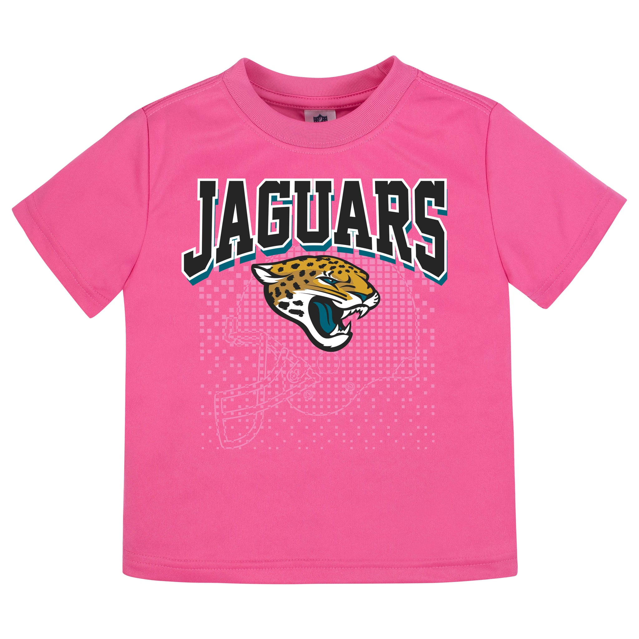 Jacksonville Jaguars Girls Short Sleeve Tee Shirt
