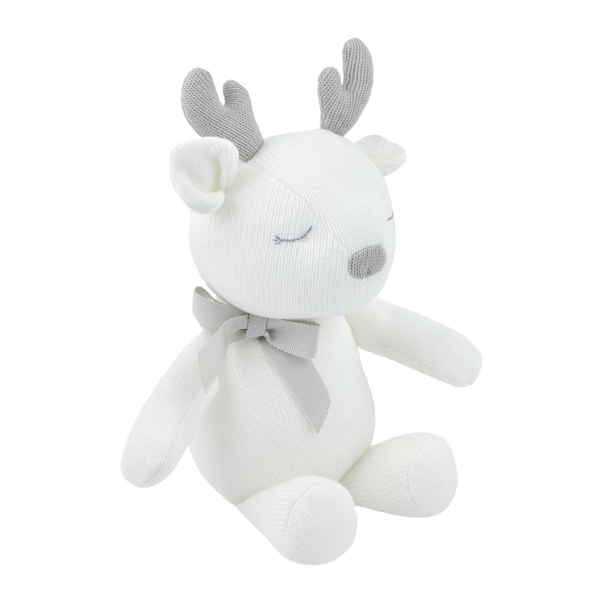 Just Born® Baby Neutral Deer Plush Toy-Gerber Childrenswear