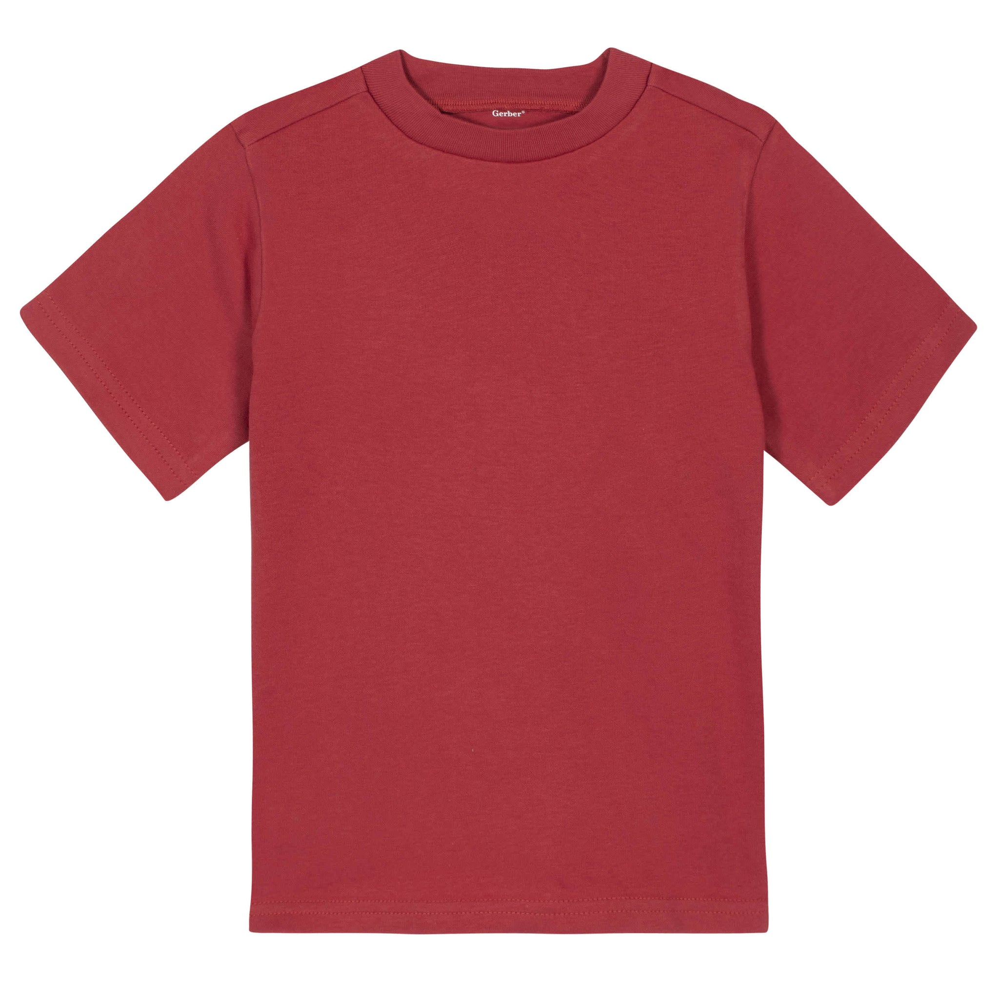 Gerber® Premium Red Short Sleeve Tee Shirt - 10 Colors Available