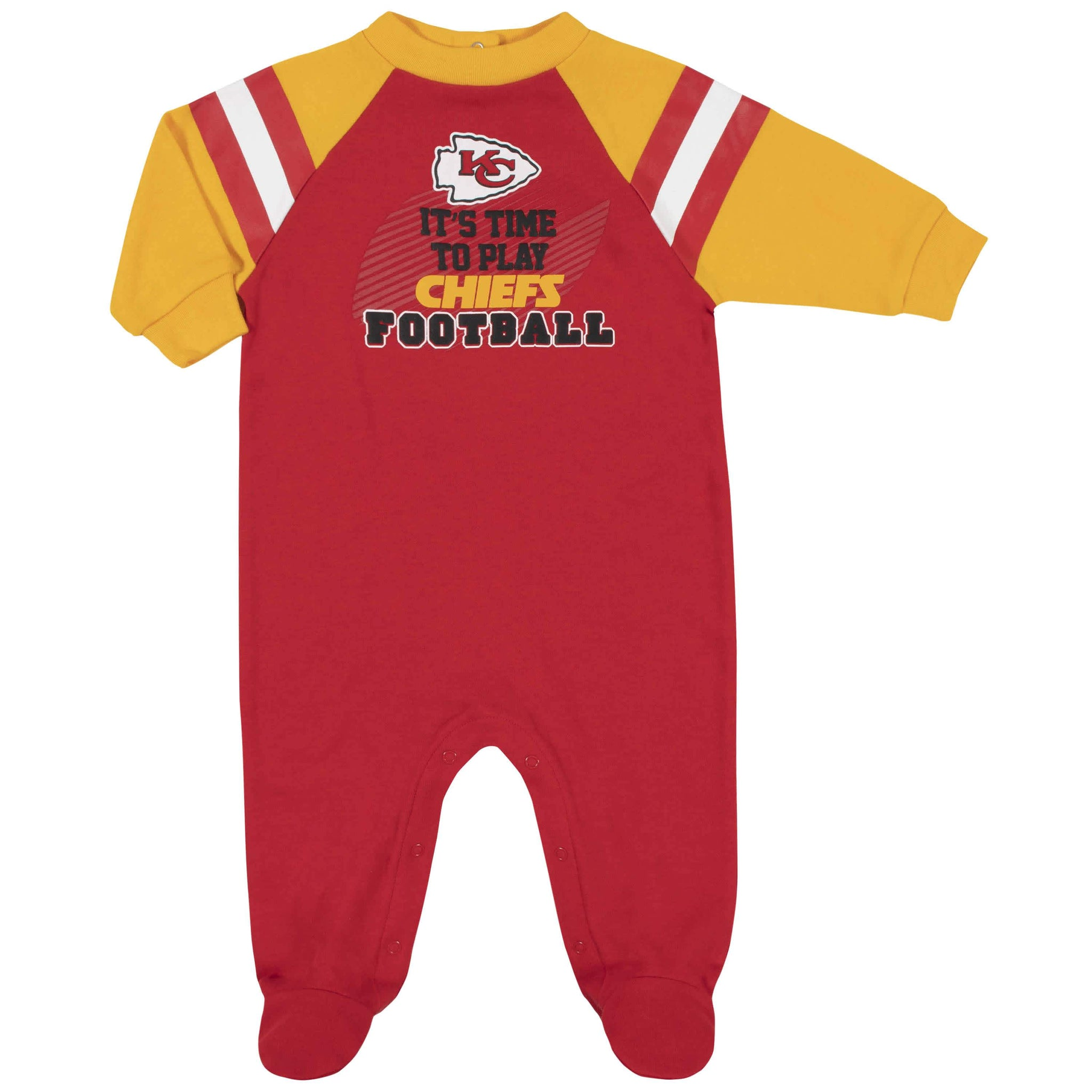 Kansas City Chiefs Baby Boys Sleep 'N Play-Gerber Childrenswear