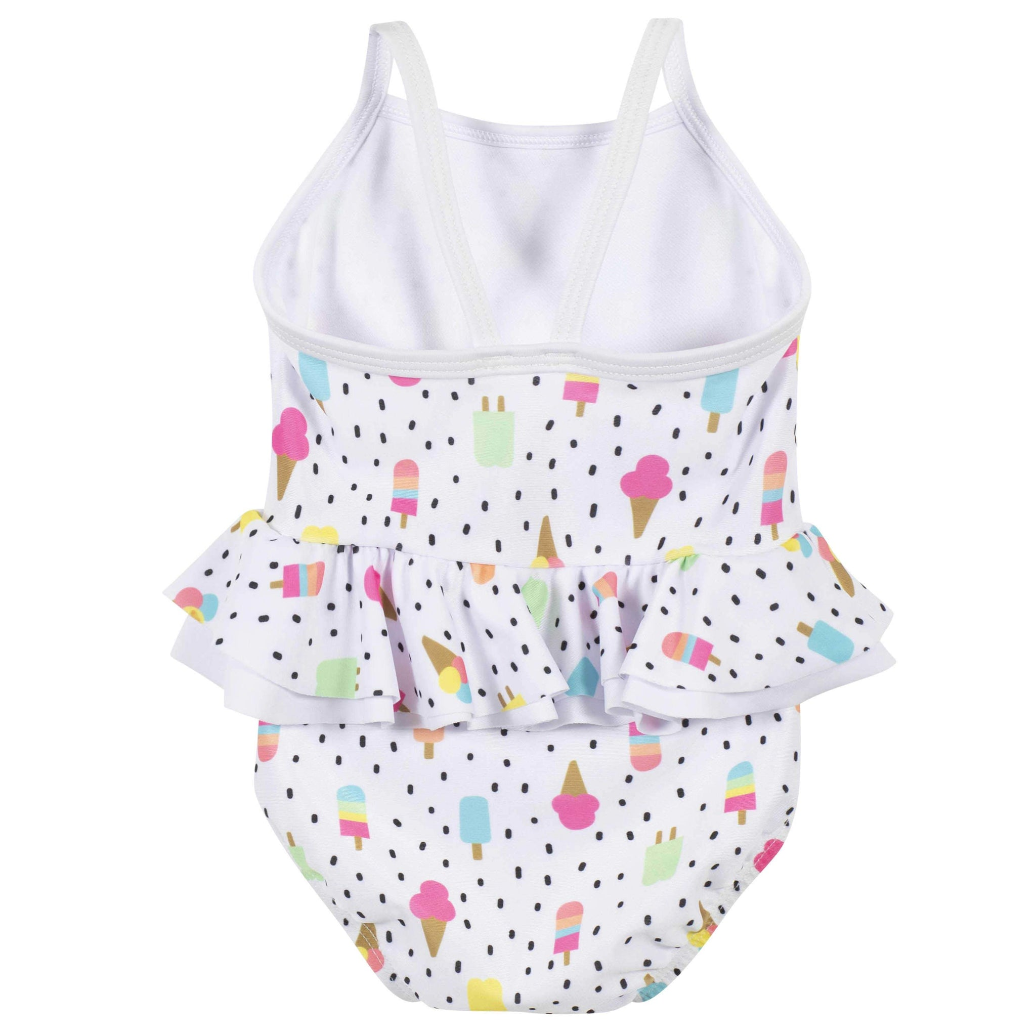 One-piece Baby Girls Frozen Treats Swimsuit