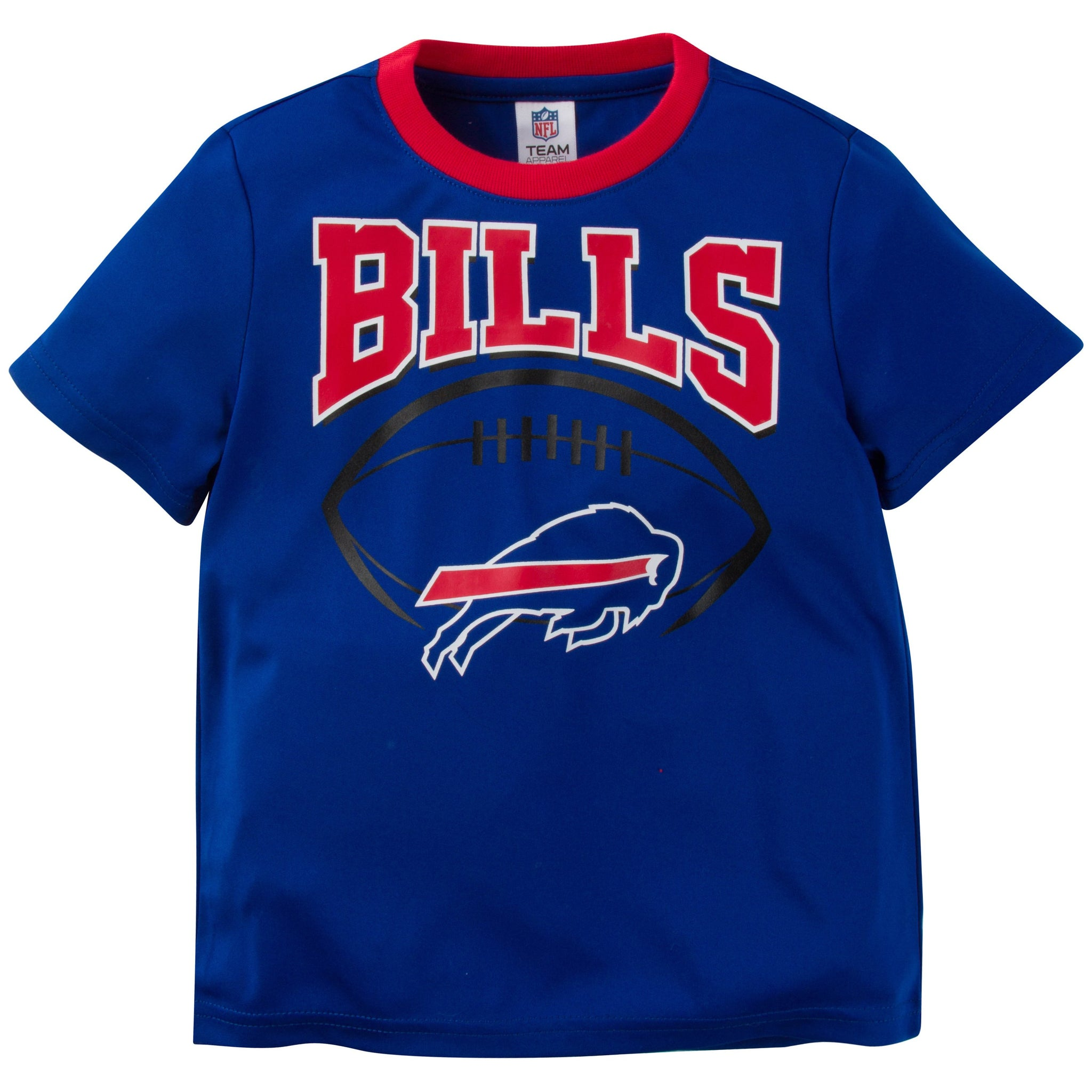 NFL Buffalo Bills Toddler Boys Short Sleeve Performance Tee Shirt-Gerber Childrenswear