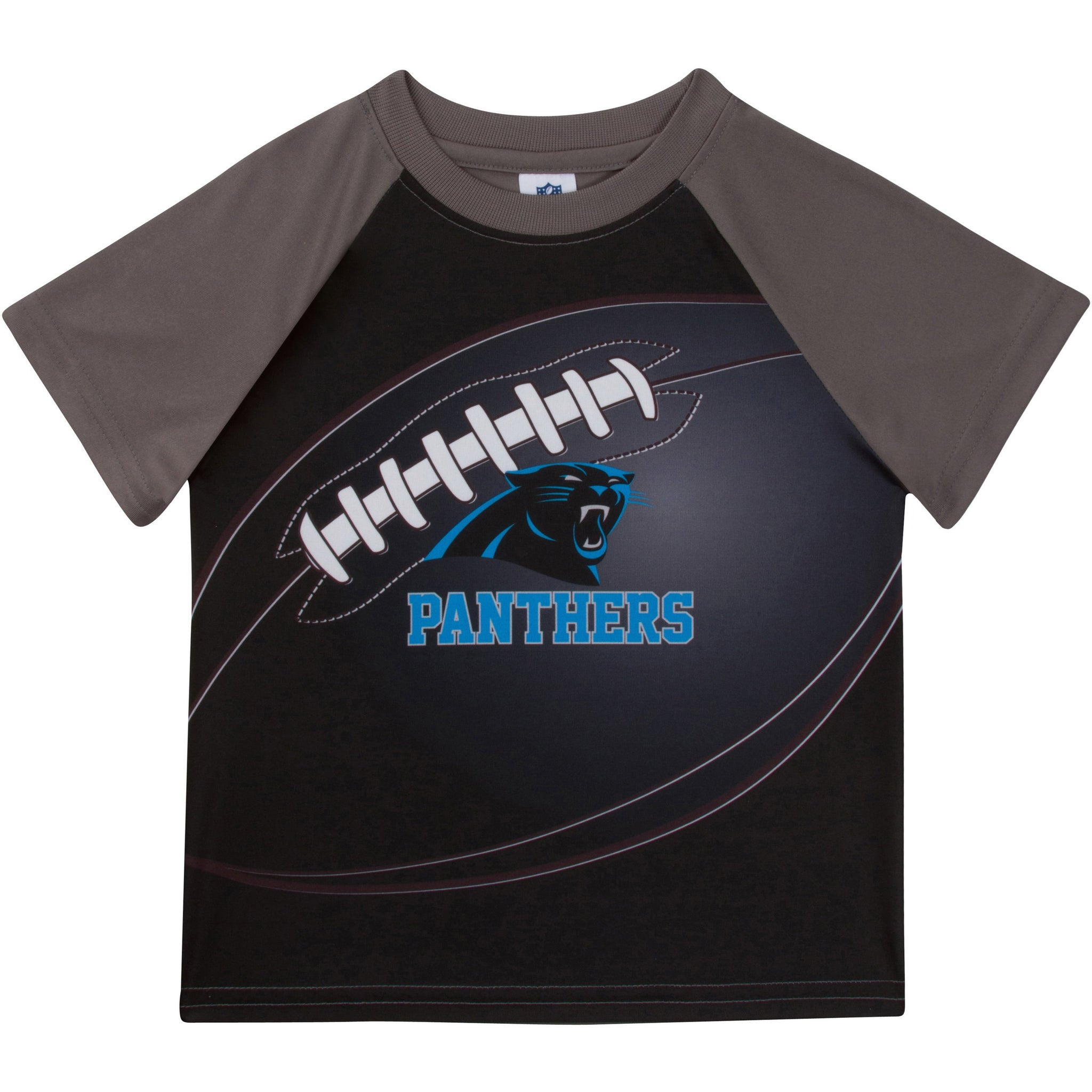 Carolina Panthers Boys Short Sleeve Tee Shirt