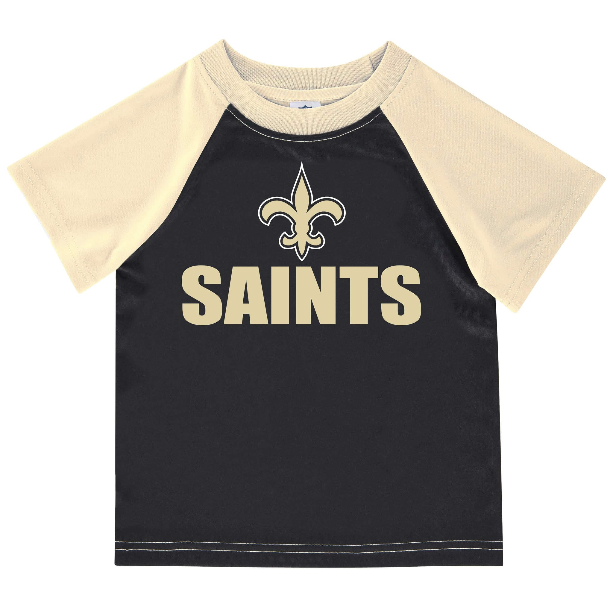 New Orleans Saints Boys Short Sleeve Tee Shirt-Gerber Childrenswear