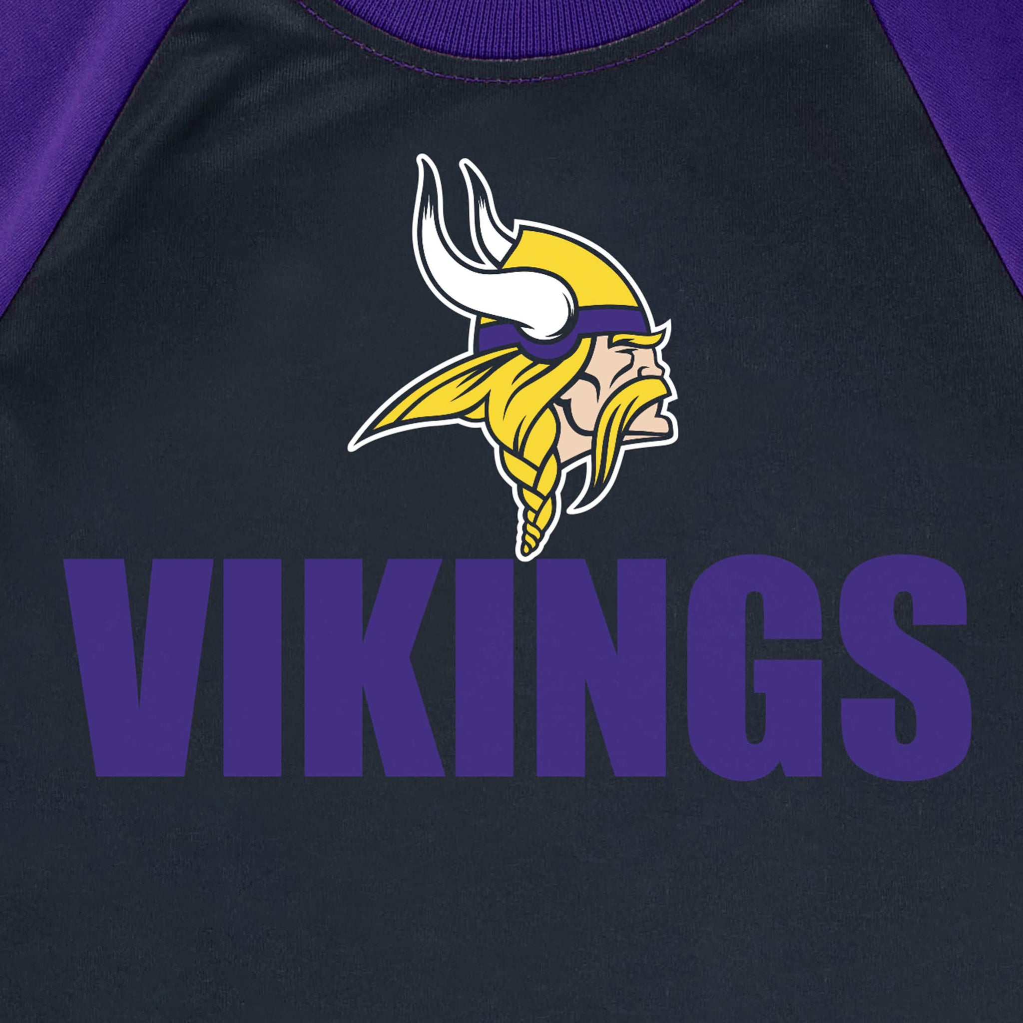 Minnesota Vikings Toddler Boys Short Sleeve Tee Shirt