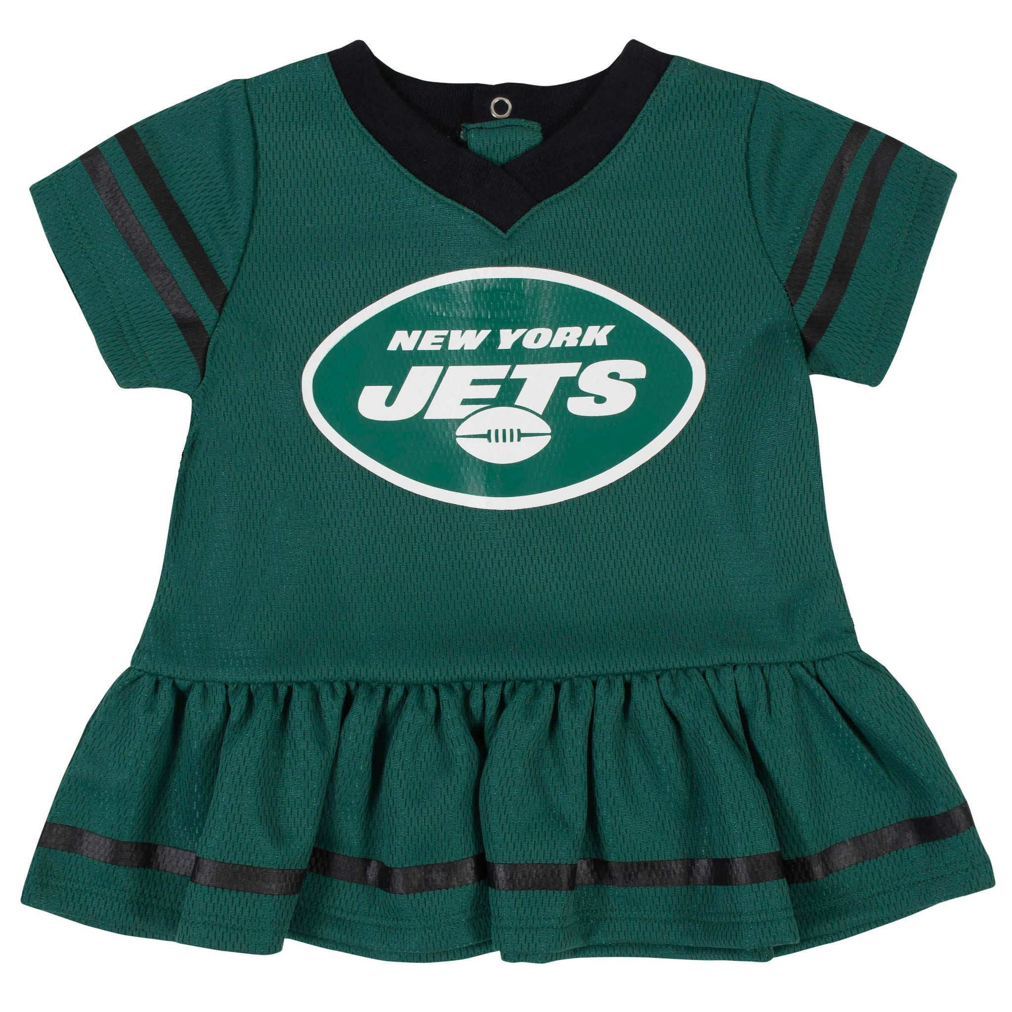 New York Jets Baby Girls Dress and Diaper Cover Set-Gerber Childrenswear