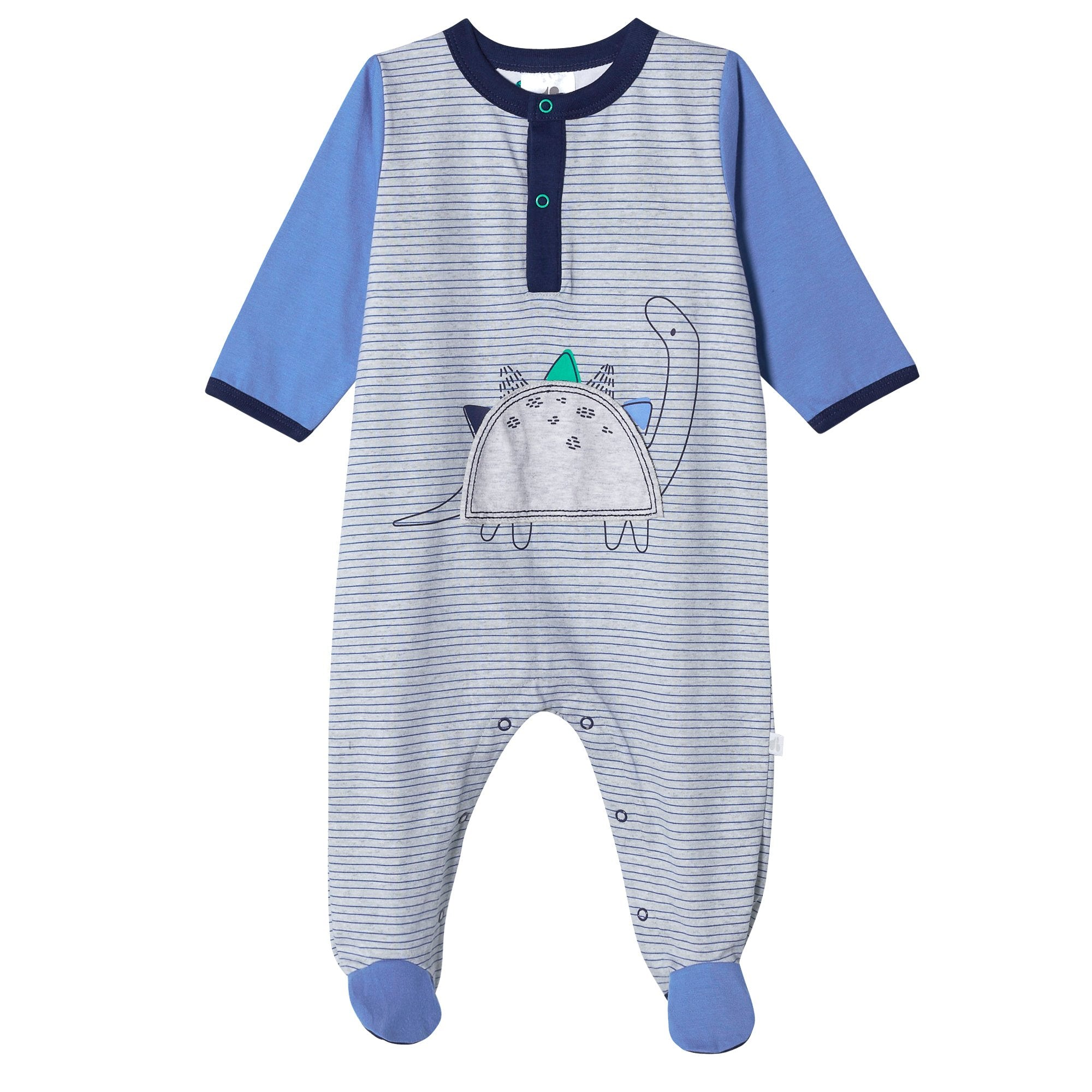 Organic Baby Boys Lil' Dino Sleep 'n Play-Gerber Childrenswear