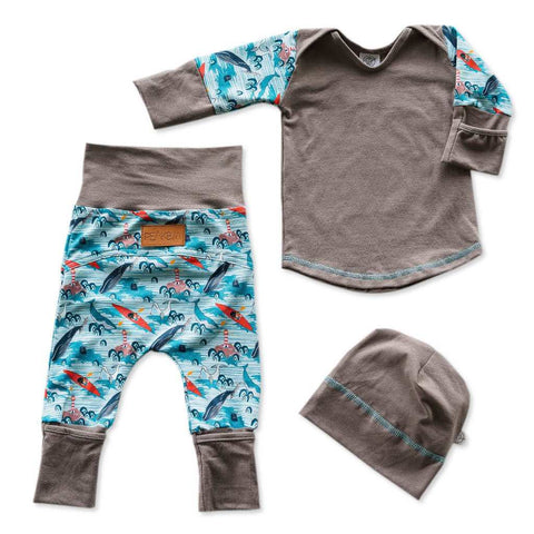 Baby & Newborn Pajama Grow With Me (5-in-1) NOMAD