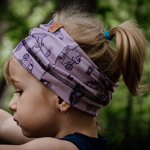 WEST VIOLET multi headband