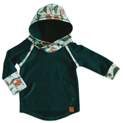 Nomad Hoodie Grow with Me (with Pocket)
