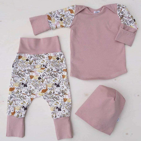 Pajama Grow With Me 5-in-1 PINK VICTORIN