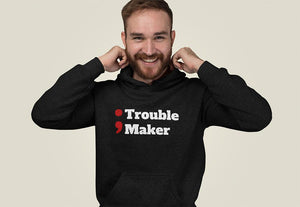 Trouble maker programmer Hooded Sweatshirt