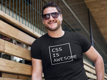 Load image into Gallery viewer, CSS is awesome Programmer T-Shirt