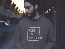 Load image into Gallery viewer, CSS is awesome CSS Developer Hooded Sweatshirt