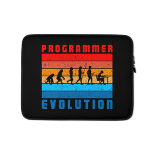 Programmer Evolution Laptop Case