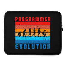 Load image into Gallery viewer, Programmer Evolution Laptop Case