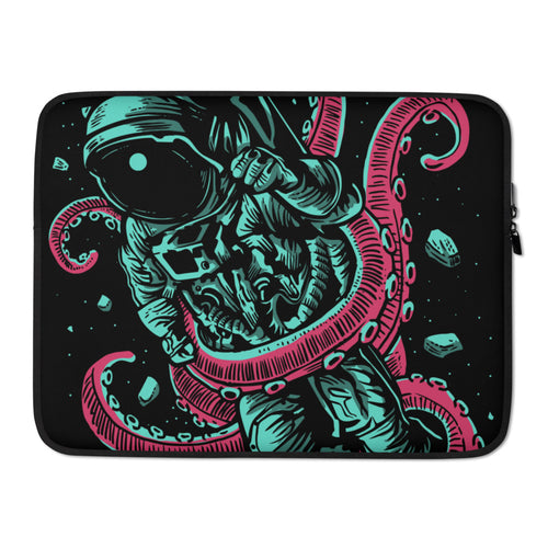 Astronaut Octopus Laptop Case