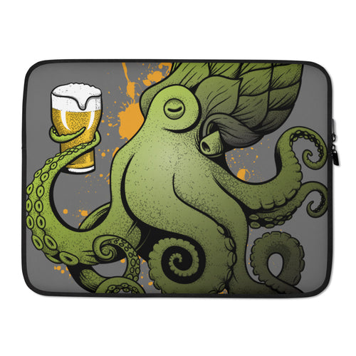 Beer Octopus Laptop Case