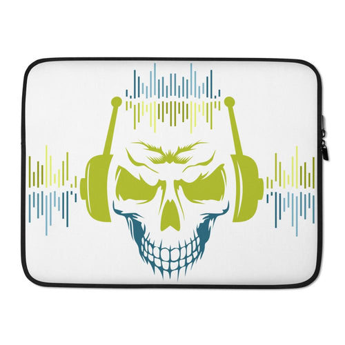 Musical Skull Laptop Case