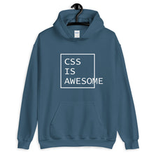 Load image into Gallery viewer, CSS is awesome programming hoodie