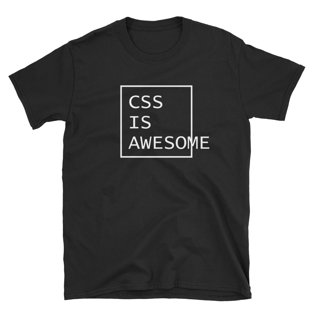 CSS is awesome Programmer T-Shirt