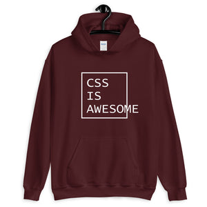 CSS is awesome programming hoodie