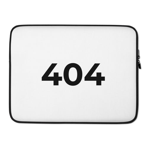 404 Programmer Laptop Sleeve Case