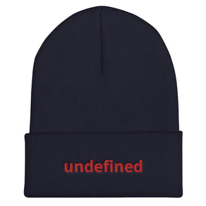 undefined Programming Cuffed Beanie