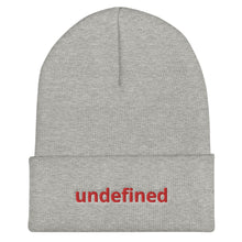 Load image into Gallery viewer, undefined Programming Cuffed Beanie