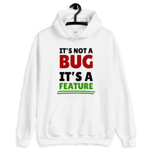 Load image into Gallery viewer, It's not a bug it's a feature programmer Hoodie Sweatshirt