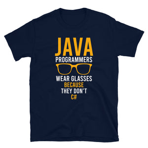 Java Programmers Wear Glasses T-Shirt