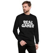 Load image into Gallery viewer, Real Gamer Sweatshirt