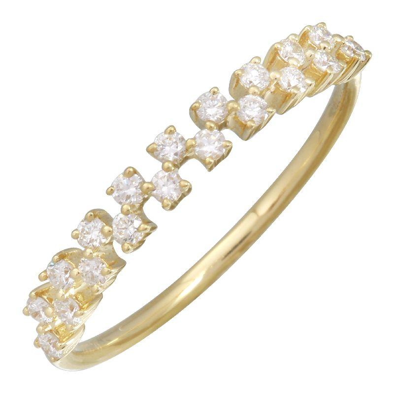 Diamond Band Ring - VaskiaJewelry