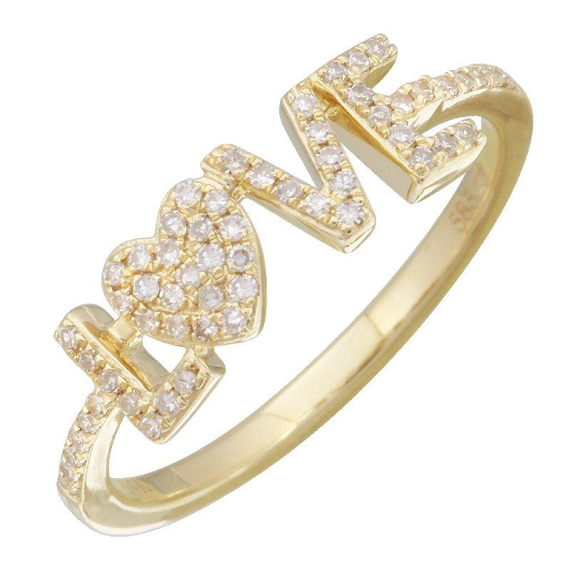 Love Diamond Ring - VaskiaJewelry
