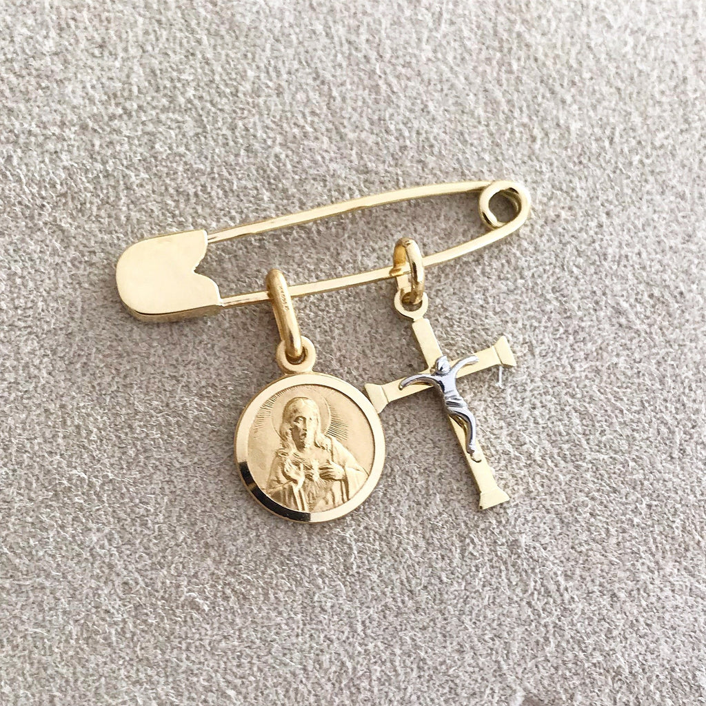 Baby Safety Pin - VaskiaJewelry